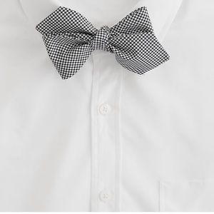 J. Crew Men's Mini-gingham Bow Tie